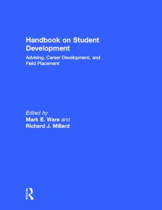 Handbook on Student Development: Advising, Career Development, and Field Placement, 1st Edition (Hardback) book cover