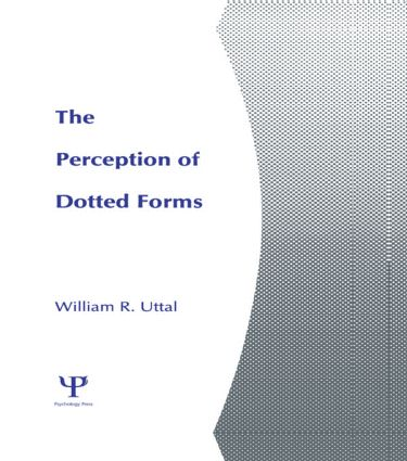The Perception of Dotted Forms: 1st Edition (Hardback) book cover