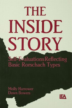 The Inside Story: Self-evaluations Reflecting Basic Rorschach Types book cover