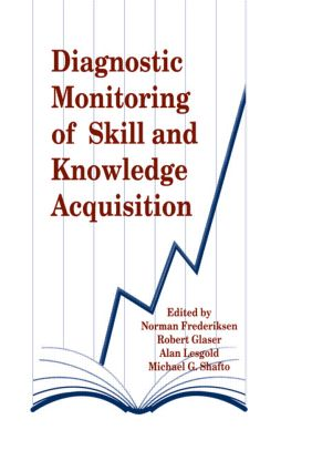 Diagnostic Monitoring of Skill and Knowledge Acquisition (Hardback) book cover