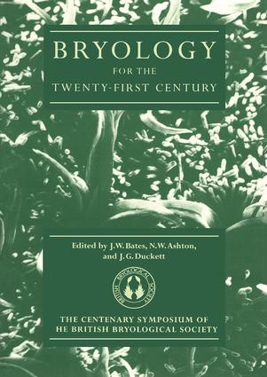 Bryology for the Twenty-first Century: 1st Edition (Paperback) book cover