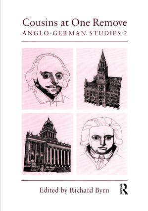Cousins at One Remove: Anglo-German Studies: 2nd: Cousins at One Remove: Anglo-German Studies, 1st Edition (Paperback) book cover