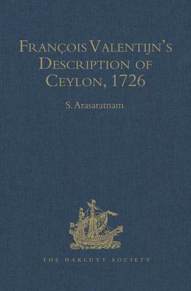 François Valentijn's Description of Ceylon: (Oud en Nieuw Oost-Indien, 1726), 1st Edition (Hardback) book cover
