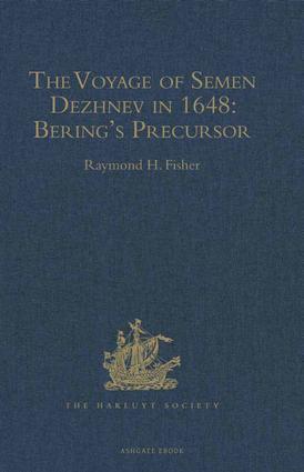 The Voyage of Semen Dezhnev in 1648: Bering's Precursor, 1st Edition (Hardback) book cover