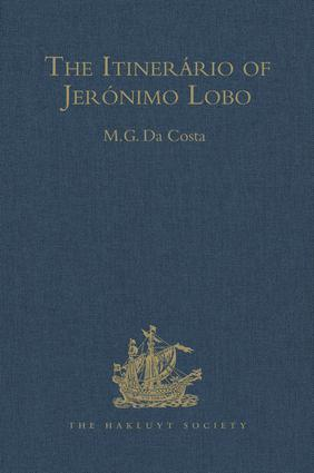 The Itinerário of Jerónimo Lobo book cover