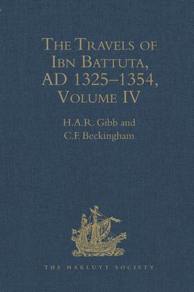 The Travels of Ibn Battuta, AD 1325–1354: Volumes I - V, 1st Edition (Hardback) book cover