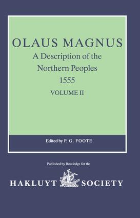 Olaus Magnus, A Description of the Northern Peoples, 1555: Volume I book cover