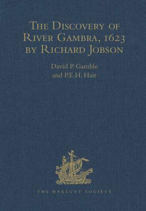 The Discovery of River Gambra (1623) by Richard Jobson: 1st Edition (Hardback) book cover