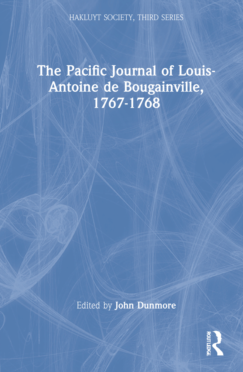 The Pacific Journal of Louis-Antoine de Bougainville, 1767-1768: 1st Edition (Hardback) book cover