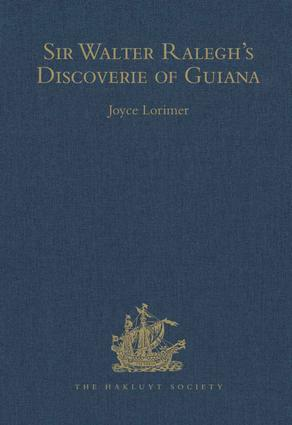 Sir Walter Ralegh's Discoverie of Guiana book cover