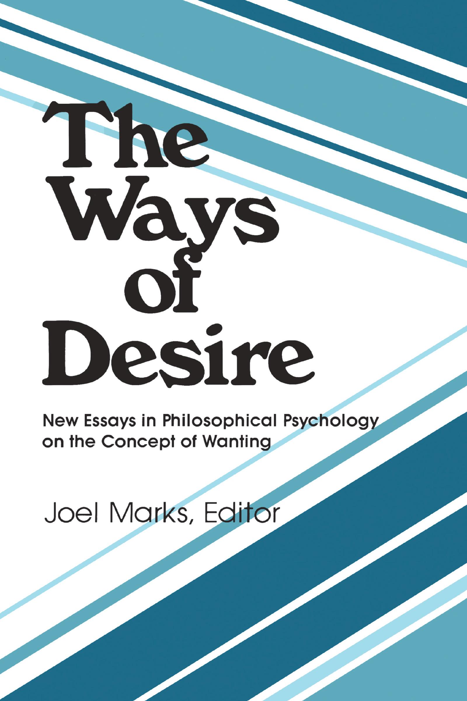 The Ways of Desire