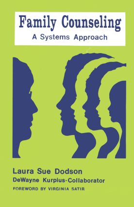 Family Counseling: A Systems Approach, 1st Edition (Paperback) book cover