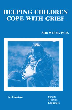Helping Children Cope With Grief (Paperback) book cover