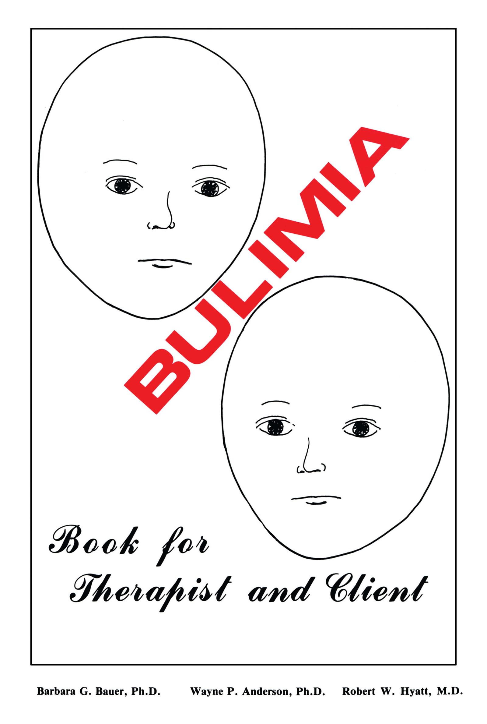Bulimia: 1st Edition (Paperback) book cover