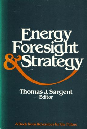Energy, Foresight, and Strategy (Paperback) book cover
