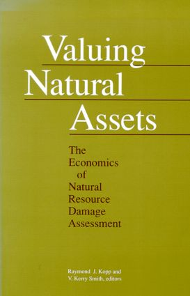 Valuing Natural Assets: The Economics of Natural Resource Damage Assessment, 1st Edition (Paperback) book cover
