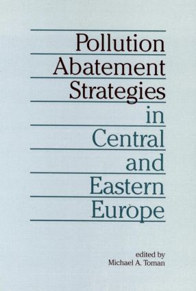 Pollution Abatement Strategies in Central and Eastern Europe (Paperback) book cover