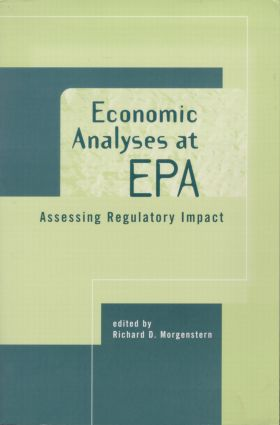 Economic Analyses at EPA: Assessing Regulatory Impact (Paperback) book cover