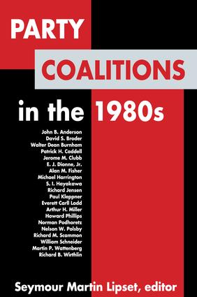 Party Coalitions in the 1980s: 1st Edition (Paperback) book cover