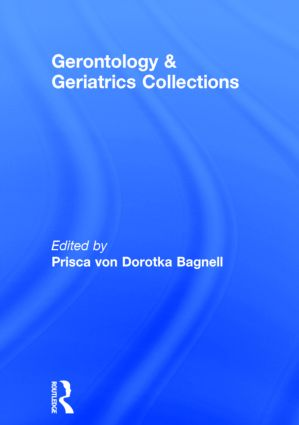 Gerontology and Geriatrics Collections (Hardback) book cover