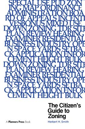 Citizen's Guide to Zoning: 1st Edition (Paperback) book cover