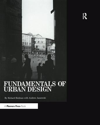 Fundamentals of Urban Design: 1st Edition (Paperback) book cover