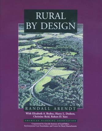 Rural By Design: 1st Edition (Paperback) book cover
