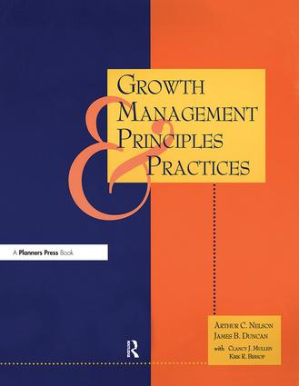 Growth Management Principles and Practices: 1st Edition (Paperback) book cover