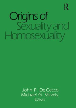 Origins of Sexuality and Homosexuality (Paperback) book cover