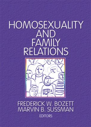 Homosexuality and Family Relations book cover
