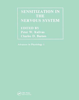 Sensitization in the Nervous System (Hardback) book cover