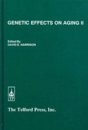 Genetic Effects on Aging (Hardback) book cover