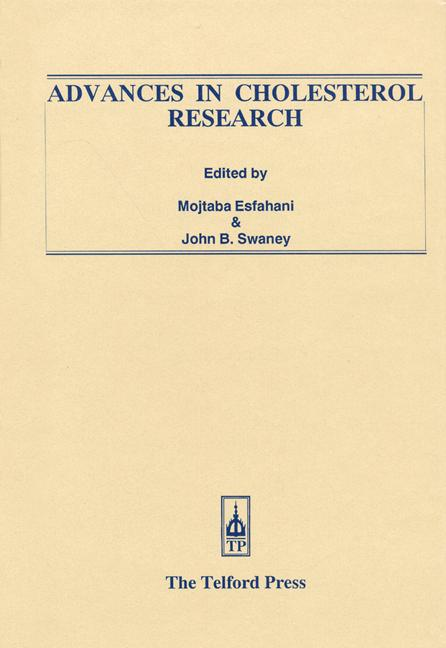 Advances in Cholesterol Research: 1st Edition (Hardback) book cover