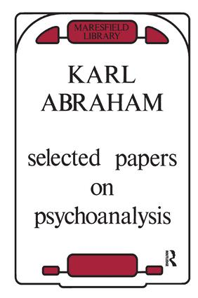 Selected Papers on Psychoanalysis: 1st Edition (Paperback) book cover