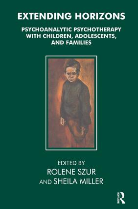 Extending Horizons: Psychoanalytic Psychotherapy with Children, Adolescents and Families, 1st Edition (Paperback) book cover
