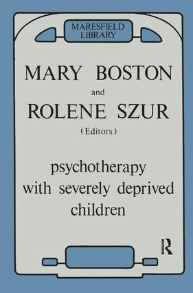 Psychotherapy with Severely Deprived Children: 1st Edition (Paperback) book cover