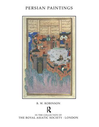 Persian Paintings in the Collection of the Royal Asiatic Society book cover