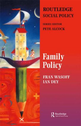 Family Policy: 1st Edition (Paperback) book cover