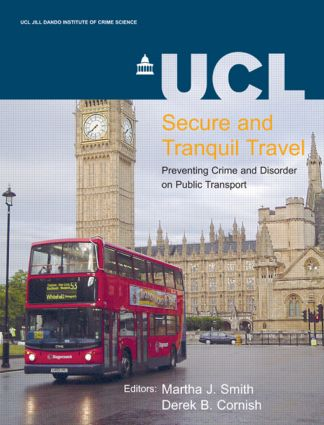Secure and Tranquil Travel: 1st Edition (Paperback) book cover