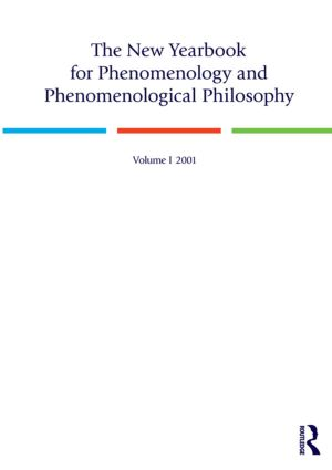 The New Yearbook for Phenomenology and Phenomenological Philosophy: Volume 1 book cover
