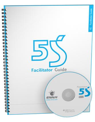 5S Version 1 Facilitator Guide: 1st Edition (Paperback) book cover