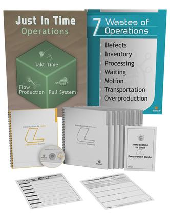 Introduction to Lean: Training Package: Training Package, 1st Edition (Pack) book cover