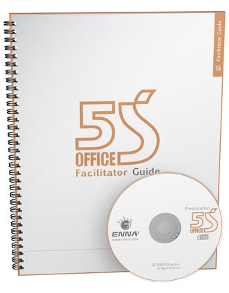 5S Office Version 1 Facilitator Guide: 1st Edition (Paperback) book cover