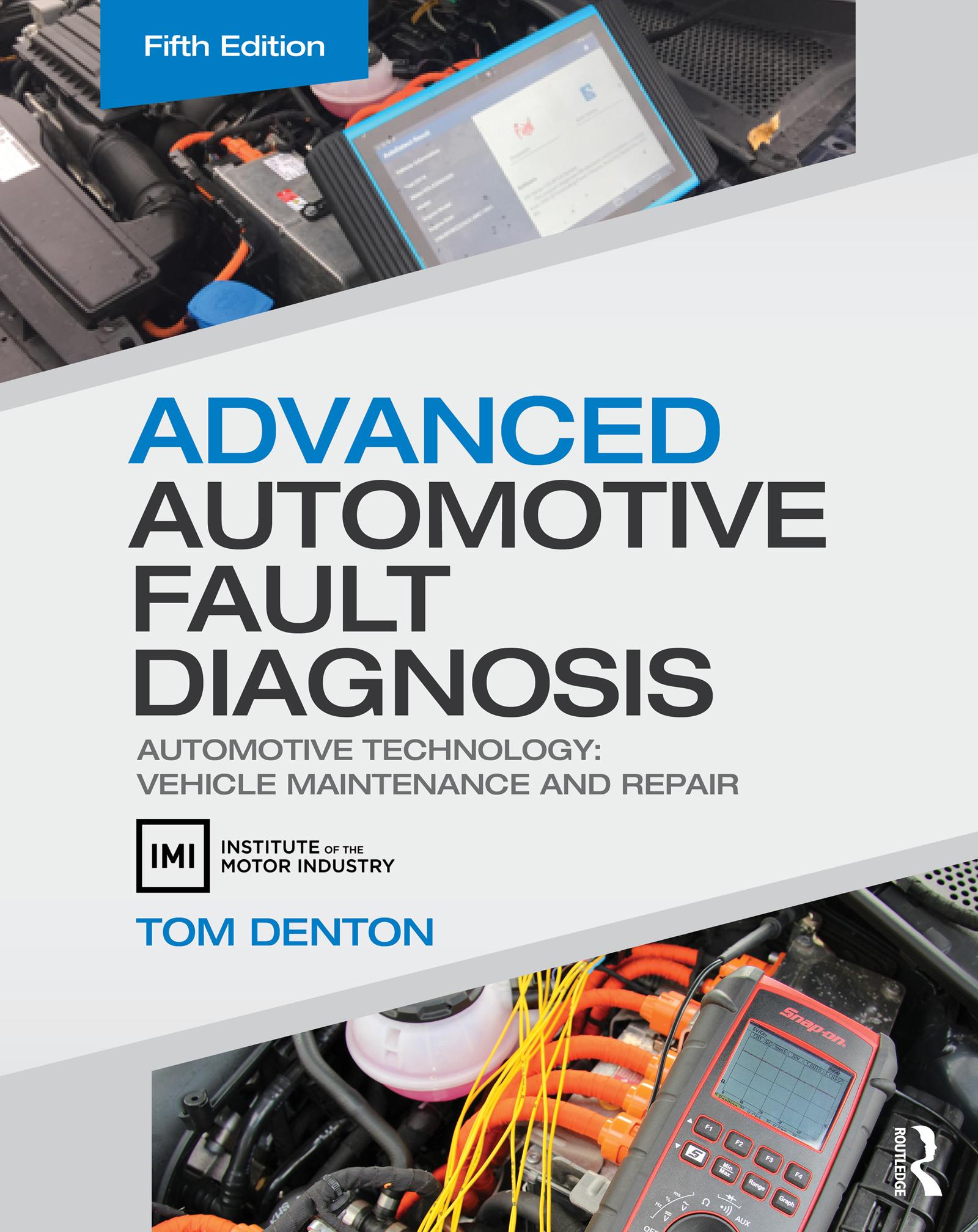 Sensors, actuators and oscilloscope diagnostics