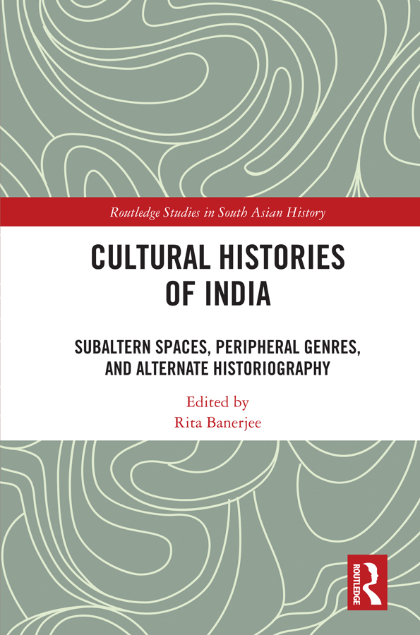Cultural Histories of India