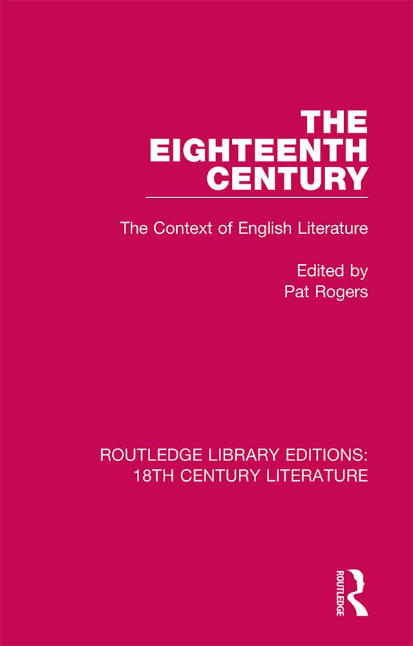 The Eighteenth Century: The Context of English Literature book cover
