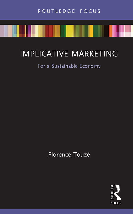 Implicative Marketing: For a Sustainable Economy book cover