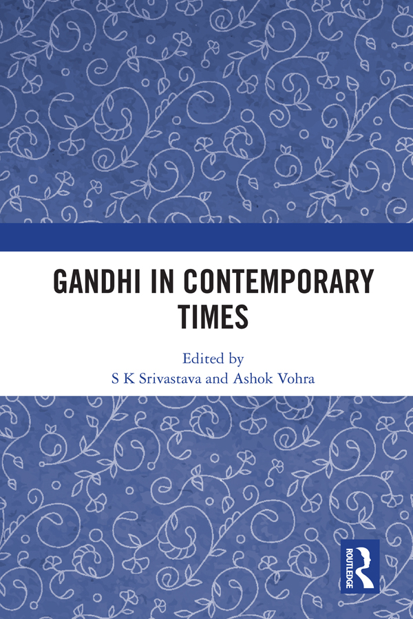 Gandhi In Contemporary Times book cover