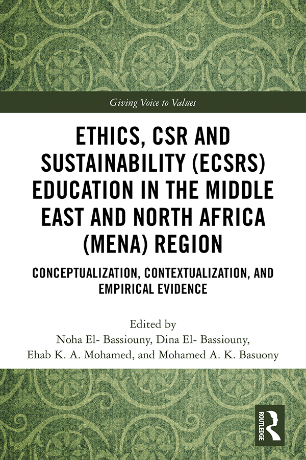Ethics, CSR and Sustainability (ECSRS) Education in the Middle East and North Africa (MENA) Region