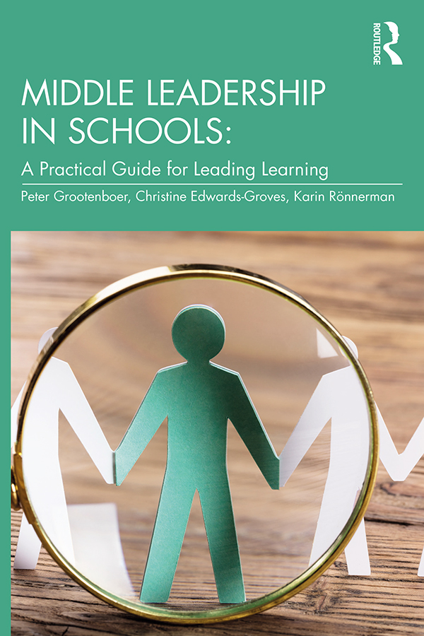 Middle Leadership in Schools: A Practical Guide for Leading Learning book cover